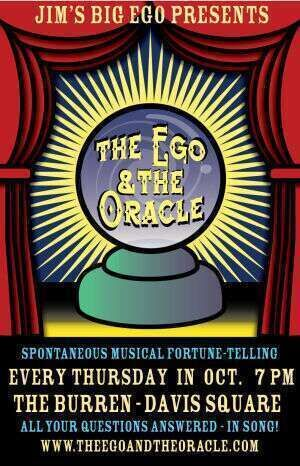 The Ego amp The Oracle  Every Thursday in October