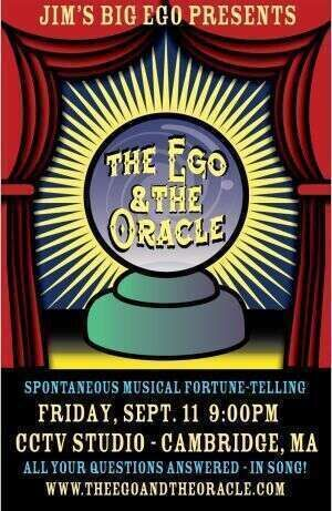 The Ego amp The Oracle  Encore Performance at Boston Improv Festival on Sept 11