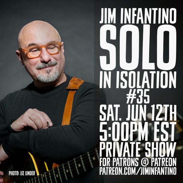 JIm Infantino with guitar