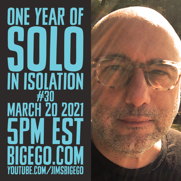poster for solo in isolation
