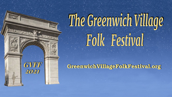 Jim opens up the Greenwich Village Folk Festival online