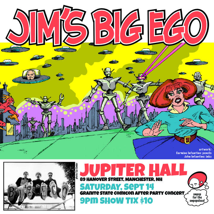 Jims Big Ego at Jupiter Hall, NH